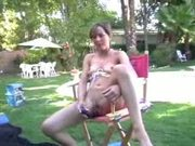 Backyard Lesbian Orgy