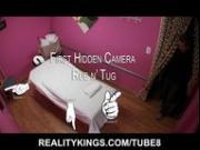 Hidden camera rub and tugs. Every man's dream massage