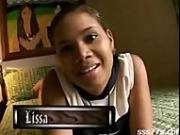 Colombian Ebony Teen - First scene