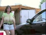 Milena Velba car wash
