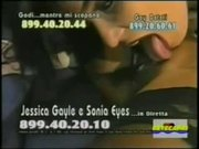 Sonia Eyes e Jessica Gayle  Lesbo