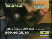 Sonia Eyes e Jessica Gayle Lesbo