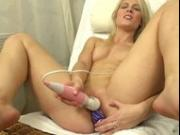 Extreme czech blonde cunt gaping