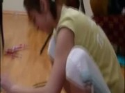Crazy amateur girls playing