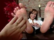Barefoot Tickle Fight Between Husband and Sexy Wife