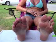 Sexy Milf Mature Dirty Foot Bandit Steals the Show