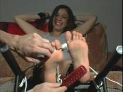Tied Up foot tickle torture
