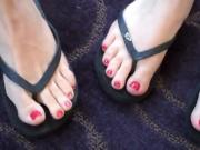 Watch These These Hot Women In Sandals Show Off Their Soft Feet