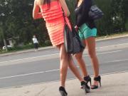 Russians girls in sexy stilettos