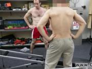 Naked straight ginger boy gay Fitness trainer gets ass fucking banged