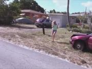 Kiera Daniels juicy booty bounces while fuck inside the car