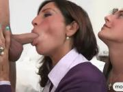 Mischa Brooks and Tara Holiday threesome