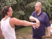 Mia Scarlett offers her twat to stranger