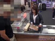 Quick blowjob and public moviekups mona MILF sells her husband's stuff