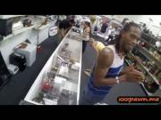 Guy pawns his girlfriends pussy for money at the pawn shop