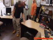Straightbait pawn amateur facialized for cash in trio