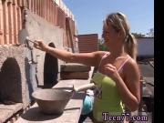 Blonde teen fist fuck and cute asian teen virgin Kate & Tanya in the sun