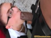 Dicksucking CFNM office sluts fuck black cock
