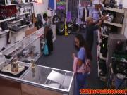 Real latina nurse sells panties to a pawnshop