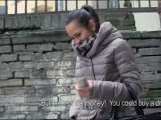 Czech girl payed for fucking stranger