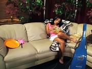 Dp latina whore gets pounded