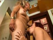 Ginger bitch gets pounded by this tranny