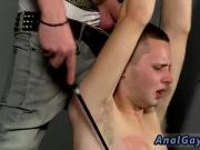 Bondage and masturbate photos gay Slave Boy Fed Hard Inches