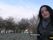 Pulled Moldavian babe fucked and cumsprayed