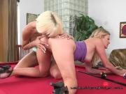 Lesbian Moms Finger And Lick Each Others Pussy