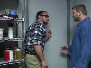 Handsome Brendan Phillips takes Colby Jansens cock deep