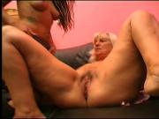Grandma seduces tattooed sexy lesbian punk