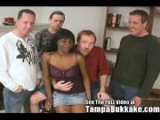 Cocoa Slut Takes On White Cock!