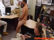 Pawnshop gaybait must tug cock for quick cash