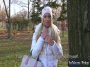 Amateur Euro slut Kiara banged for cash