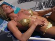 Sultry shemale Delia taking on a sexy hot babe in a hardcore sex