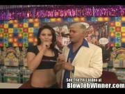 Jessica Valentino Sucks a Fans Cock!