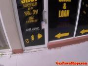 Desperate bikey facialized for cash