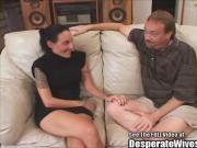Super fit cougar Hayden eager to fuck strange men