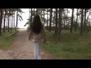 Eroberlin Anastasia Petrova Nudist Forest outdoor teen nudeart supermodel longhaired