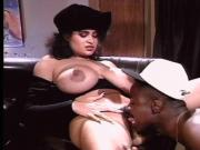 Big busted babe gets her pussy ate