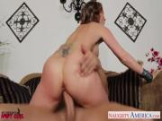 Superb babe Courtney Cummz gets big jugs fucked
