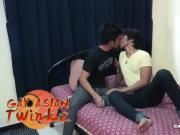 Gay Asian Twinks Hermis and Kris Fucking