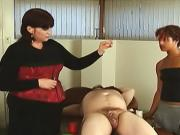 Sluts showing how to perform CBT