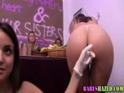Party teens oral hazing
