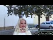Cutie Eurobabe Anastasia railed for cash