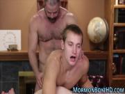 Secret gay mormon milked