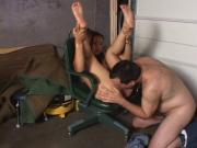 Sexy hot fucker moans as her tight cunt is being plowed intensely indoors