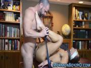Bound mormon creampied