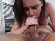 This whore loves being throated and humilated