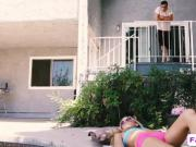 Young stud has a bizarre relationship with his stepsister
